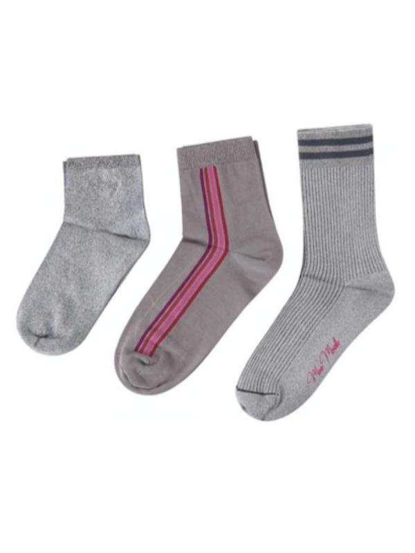 Køb Mos Mosh – Lurex Socks – Wet Weather – 36-38 – Grå